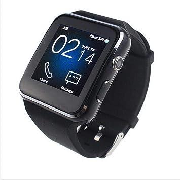 Diadia X6 - Reloj Inteligente para cámara HD Curvada, Tarjeta SIM, Monitor de sueño