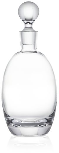 Oval Decanter | Crate and Barrel