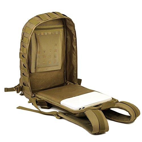 Tattico Militare Campeggio Alpinismo Impermeabili Sacchetto Zaini Sacchetti Di Bf Esterni 35l Molle Zaino Trekking Yzml wIq1X