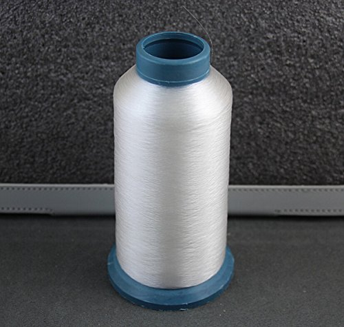 Plastic Thread - 1 Spool 4380 yards 0.1mm Clear White Quilter`s invisible 100% nylon monofilament thread,Monofilament Thread, Clear Invisible Transparent 100% Nylon,Quilting Thread~ free shipping