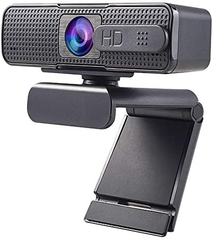 Allinko 880 Auto Focus Webcam 1080PPrivacy Cover Noise Cancelling Mic Web CameraCover Wide Screen Video Calling Recording Streaming Skype Web Cam for Mac OS X Win 10 8 7