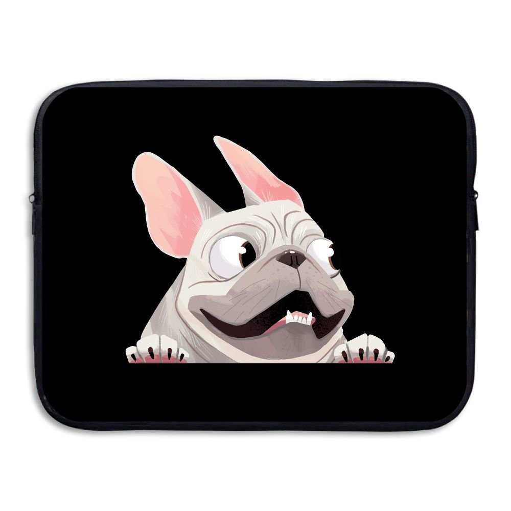 Summer Moon Fire French Bulldog Briefcase Handbag Case Cover For 13-15 Inch Laptop, Notebook, MacBook Air/Pro