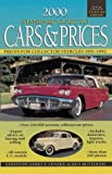 2000 Standard Guide to Cars and Prices, James T. Lenzke, 0873417666
