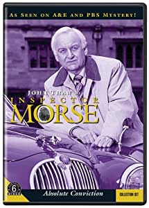 INSPECTOR MORSE ABSOLUTE CONVICTION [Import]