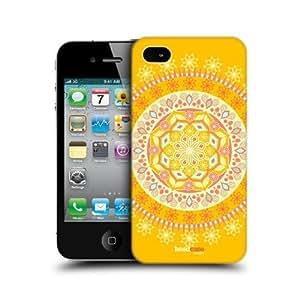 Sunshine Festival Mandala Design Back Case Cover For Apple iPhone 4 4S