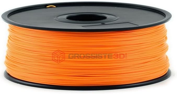 Grossiste3D® - Filamento 3D fluorescente naranja, ABS 3 mm, hilo ...