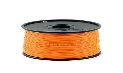 Filamento 3d fluorescente naranja ABS 1.75 mm inalámbrico 3d ...