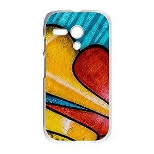 Motorola G Cell Phone Case White Graffitti I2M7NG