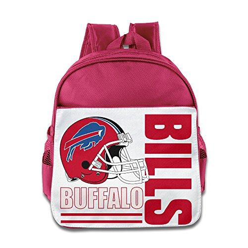 Nerd Costume Ideas Girl (HYRONE Buffalo Logo Bills Boys And Girls Schoolbag For 1-6 Years Old Pink)