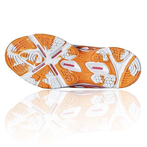Netball Blanc Netburner Asics Femmes Super De Pour Chaussures 7 Gel 5YUqz7wO