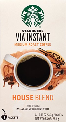 Starbucks VIA Instant Coffee, House Blend, 96 Count