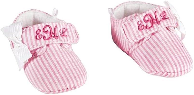 Mud Pie Pink Monogram Me Newborn Cap One Size