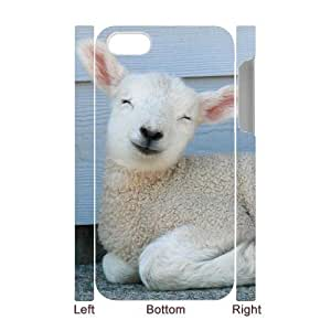 3D Bumper Plastic Case Of Sheep customized case For Iphone 4/4s