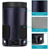 Kepuch Custer Amazon Echo 2nd Case - Ultra-Thin Custer PU Leather Case Shell Hard Case Cover for Amazon Echo 2nd - Black