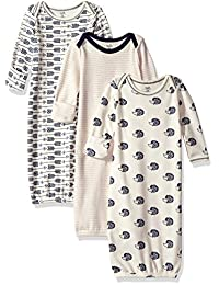 Touched by Nature Baby-Boys Baby Organic Cotton Gown