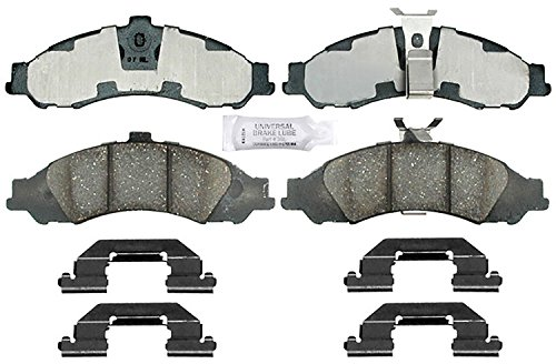 ACDelco 14D1043CH Advantage Ceramic Front Disc Brake Pad Set