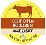 Chipotle Bourbon All Natural Best Beef Jerky - 1 FULL POUND BAG - Try Our Best Tasting Natural Beef Jerky - No Added Preservatives, No Added MSG or Nitrates, Farm Raised Beef - 16 total oz.