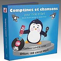 Comptines et chansons pour mon enfant- 100 Titres 1 CLE USB)