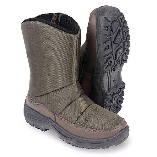 Snow Intera Foderato Le Pile Boots E Con Marrone Scatto Donne Caldo James Winter Clifford Chiusura A In Confortevole Per Figura q6XAvEwx