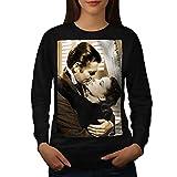 Movie Legend Stars Love Scene Women S Sweatshirt | Wellcoda