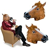 Horse Head Mask for Parties, Gifts,Christmas, Easter, New Years Eve Party, Halloween