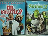 Dr. Dolittle 2 , Shrek 2 : Family Movie Night 2 Pack Collection