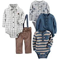 Baby Boys' 5-Piece Playwear Set