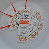 50 Save the Date Bookmarks - Wedding Save the Date Bookmarks - Custom Save the Date Bookmarks