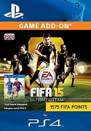 FIFA Points 1575 [PS4 PSN Code - UK account]: Amazon co uk