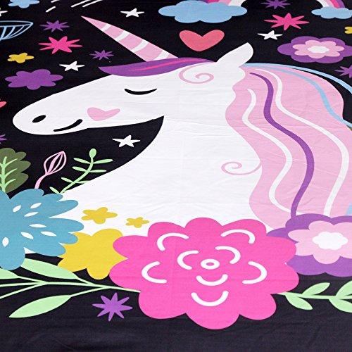 Sleepwish Unicorn Bedding 3 Piece Duvet Cover Sets