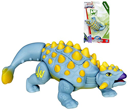 Jurassic World Ankylosaurus Action Figure Playskool Heroes 3""