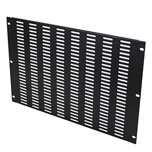NavePoint 7U Blank Rack Mount Panel IT Server Network Spacer Slotted Venting