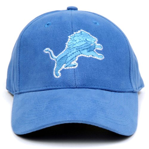 NFL Detroit Lions LED Light-Up Logo Adjustable Hat