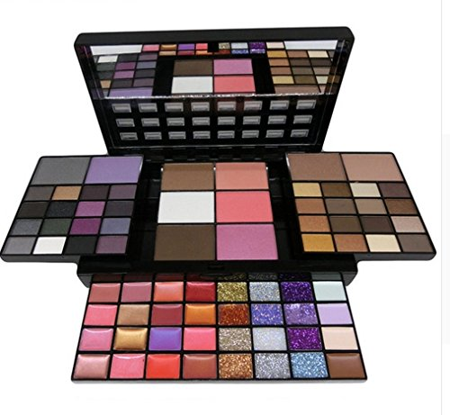 CASA SHOP MISKOS Makeup Set 74 Colors Combination 36 Colors Eyeshowed Lipstick