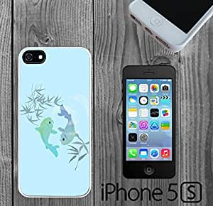 Blue Koi Fish Custom made Case/Cover/skin FOR iPhone 5/5s