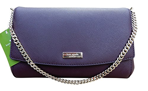 Way Deepplum Greer Laurel Clutch New Crossbody York Spade Kate Handbag zSIqx1fAw