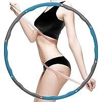 Sports Hula Hoop, Gewogen Fitness Oefening Hula Hoop, Geweldig voor Oefening, Dans Oefening Training Gymnastiek Workout…