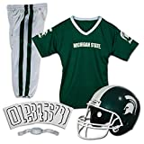 Franklin Sports NCAA Michigan State Spartans Deluxe Youth Team Uniform Set, Small