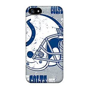 Durable Defender Case For Iphone 5/5s Tpu Cover(indianapolis Colts)