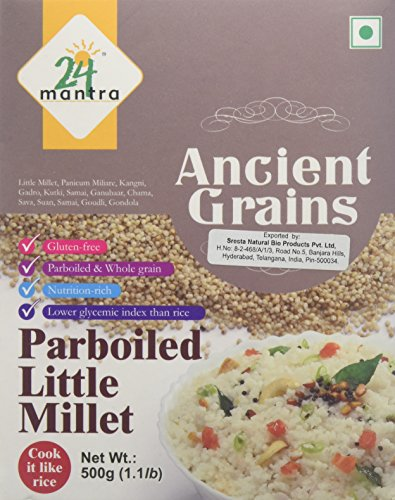24 Mantra Organic Little Millet (500g) by 24 MANTRA