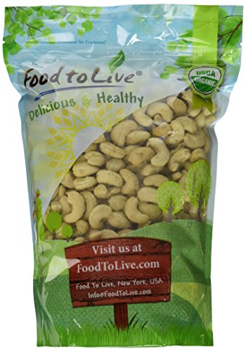 Food Live Organic Cashews Pounds product image