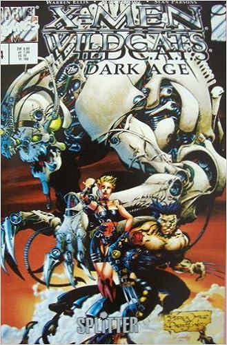 X-Men 1998 Warren Ellis Nr.4 Wildc.a.t.s The Dark Age Presseausgabe