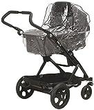 Playshoes 448966 Universal Regenverdeck, Regenschutz, Regenhaube für Kinderwagen, Dreiradwagen mit...