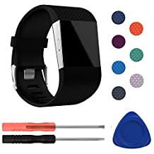 Fitbit Surge Bands, ULT-unite Original Version Adjustable Replacement Wristband for Fitbit Surge/Wireless Activity Bracelet