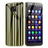 OutTop(TM) Mate20 6.1 inch Smartphone 3G Dual SIM Camera 16G Android Mobile Phone Four Lenses 2MP + 8MP 1320x720 FHD+ Resolution 2050 mAh Battery (Gold)
