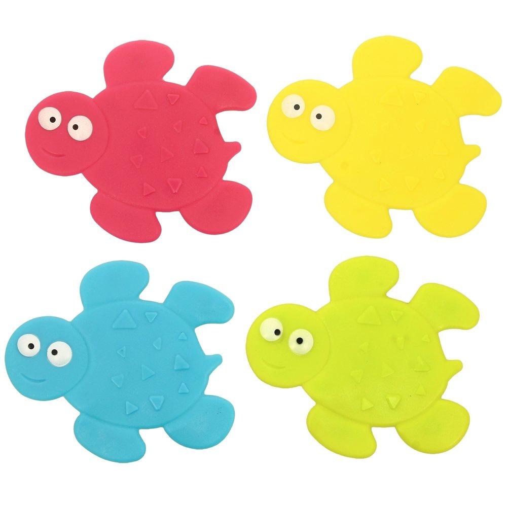 Promobo-Ventose antiscivolo da bagno, per bambino, dalla divertente forma di tartaruga