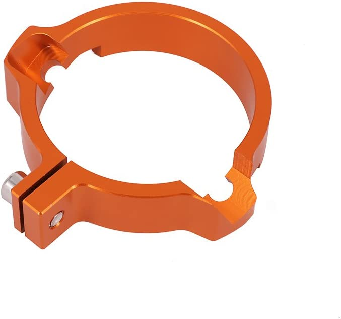/Orange /… 72/mm 7,2/cm CNC Auspuff Schalld/ämpfer Rohrschelle Anpassung Flansch f/ür SX250/EXC250/EXC300/EXC 300/Zwei Stroke Offroad Motorrad/