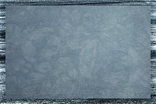 Hand-dyed 14 Count Aida Cloth (DMC/Charles Craft) - 17x19 - Wedgewood Blue Garibaldi's Needle Works