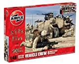 Airfix A03702 British Forces Vehicle Crew Set, 1:48 Scale