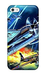 Premium Tpu Aircraft Cover Skin For Iphone 5/5s